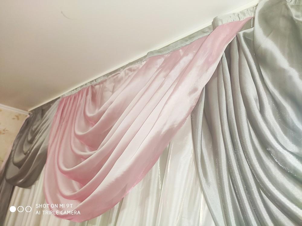 Серо-розовый лабрикены 3 метра фото №1