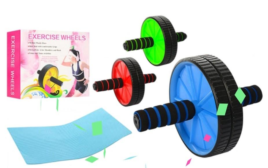 Ролик для преса. гімнастичне колесо фото №1
