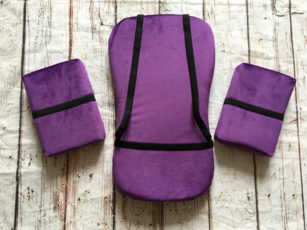 Набор подушек для гимнастики 4 см толщиной, черепашка для гимнастики, подушки для растяжки фото №1
