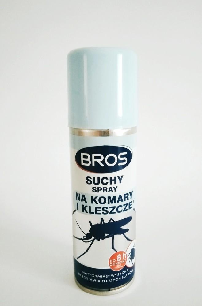 Сухий спрей bros проти комарів та кліщів 90мл код 1377 фото №1