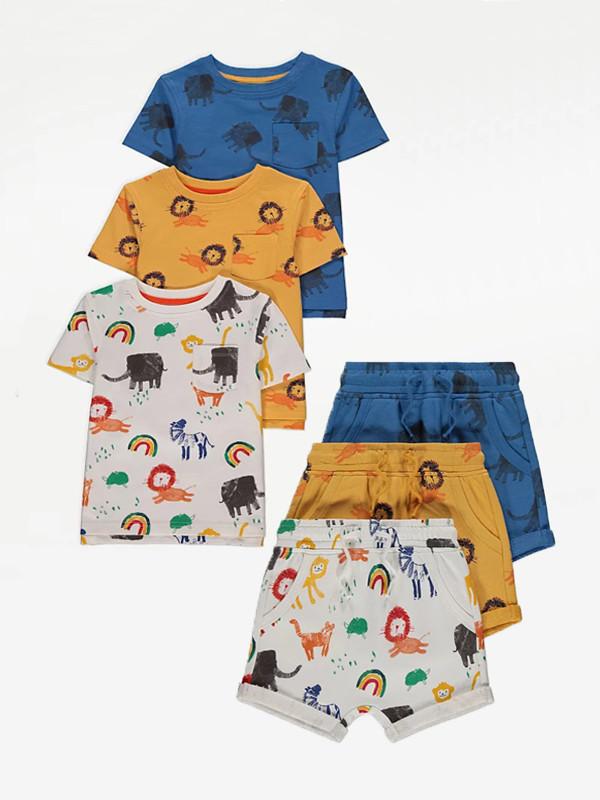 Костюм george 92-98-104-110-116 футболка шорты комплект фото №1