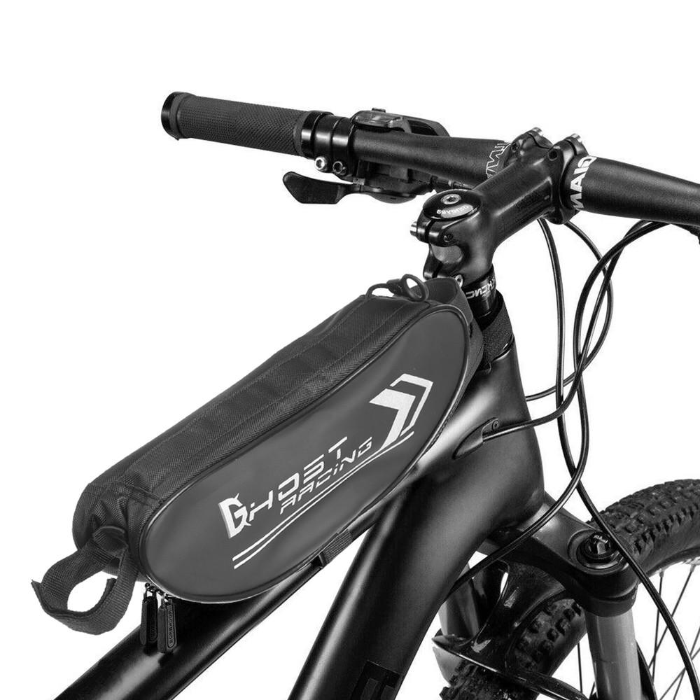 Сумка на раму мотоцикла, велосипеда dhost 1654: размер 32x8x7см фото №1