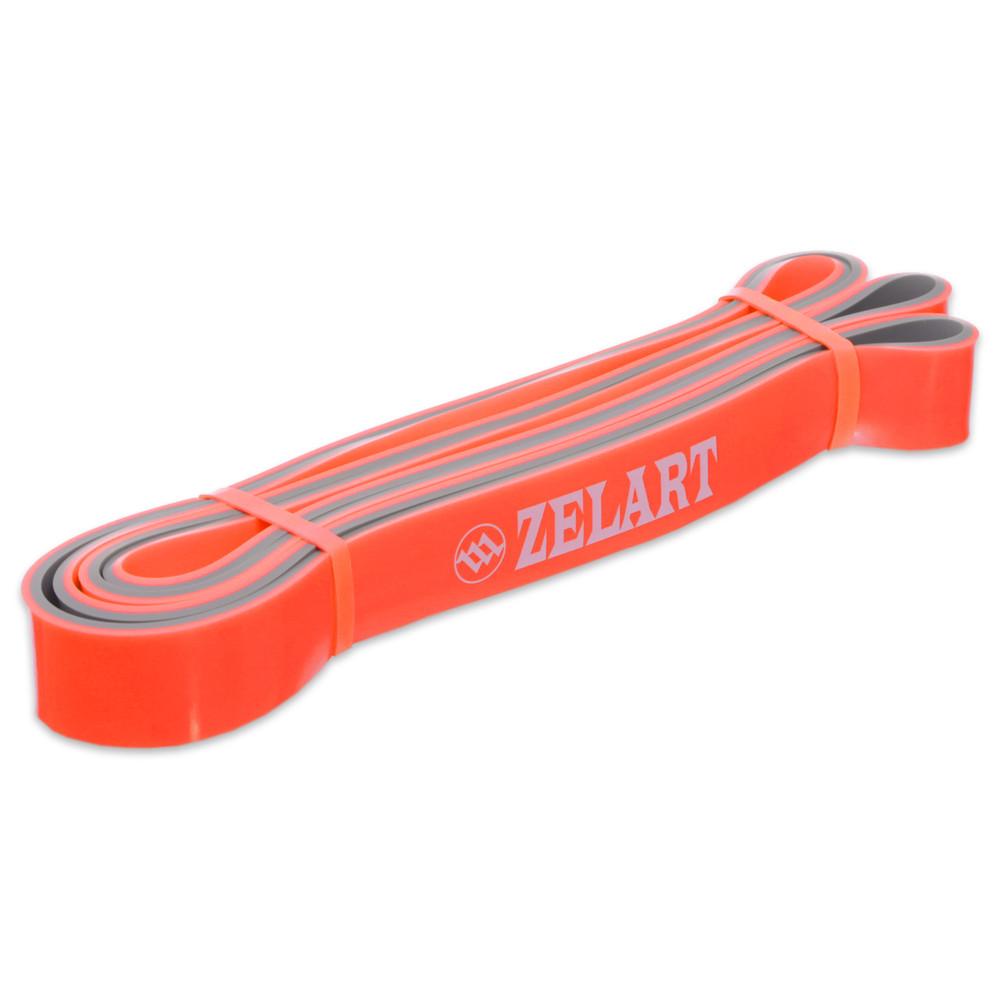 Резина для фитнеса dual power band 0911-4 (резина для подтягиваний): мощность xs, 2080x21x4,5мм фото №1