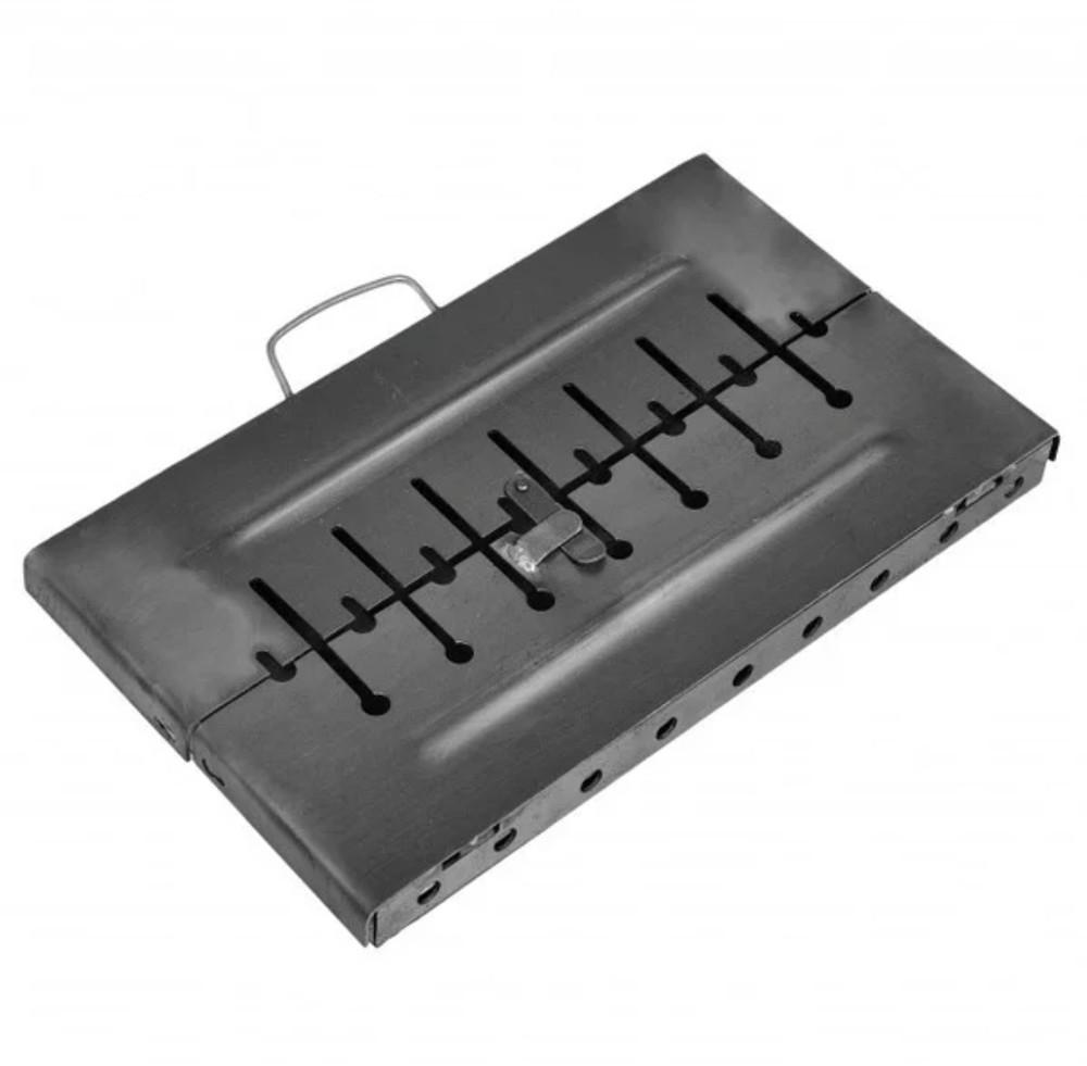 Мангал чемодан складной на 10 шампуров фото №1