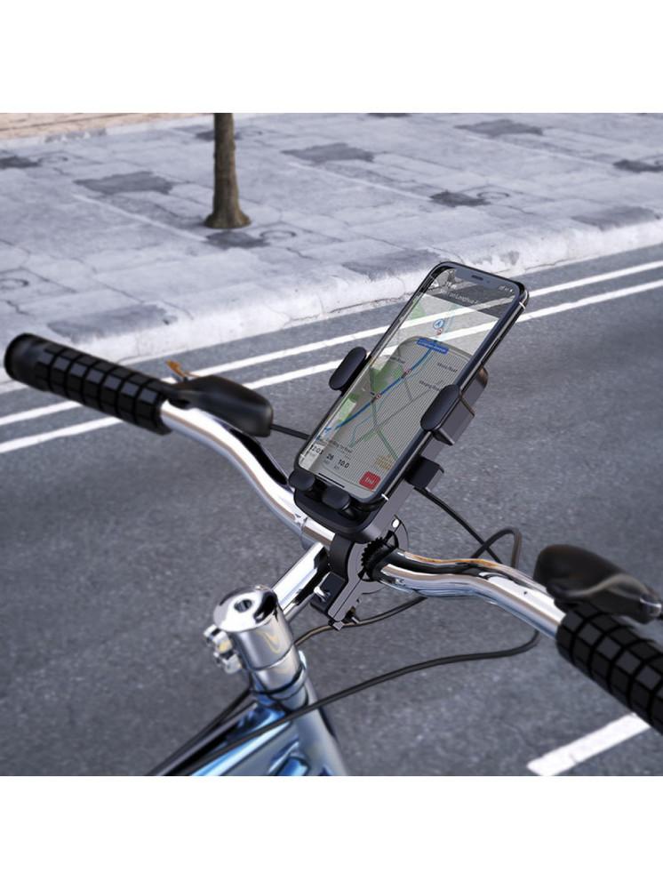 Универсальный велосипедный держатель, велодержатель borofone bh34 dove фото №1