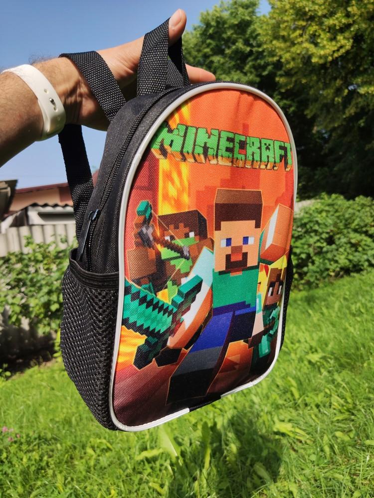 Детский рюкзак майнкрафт фото №1