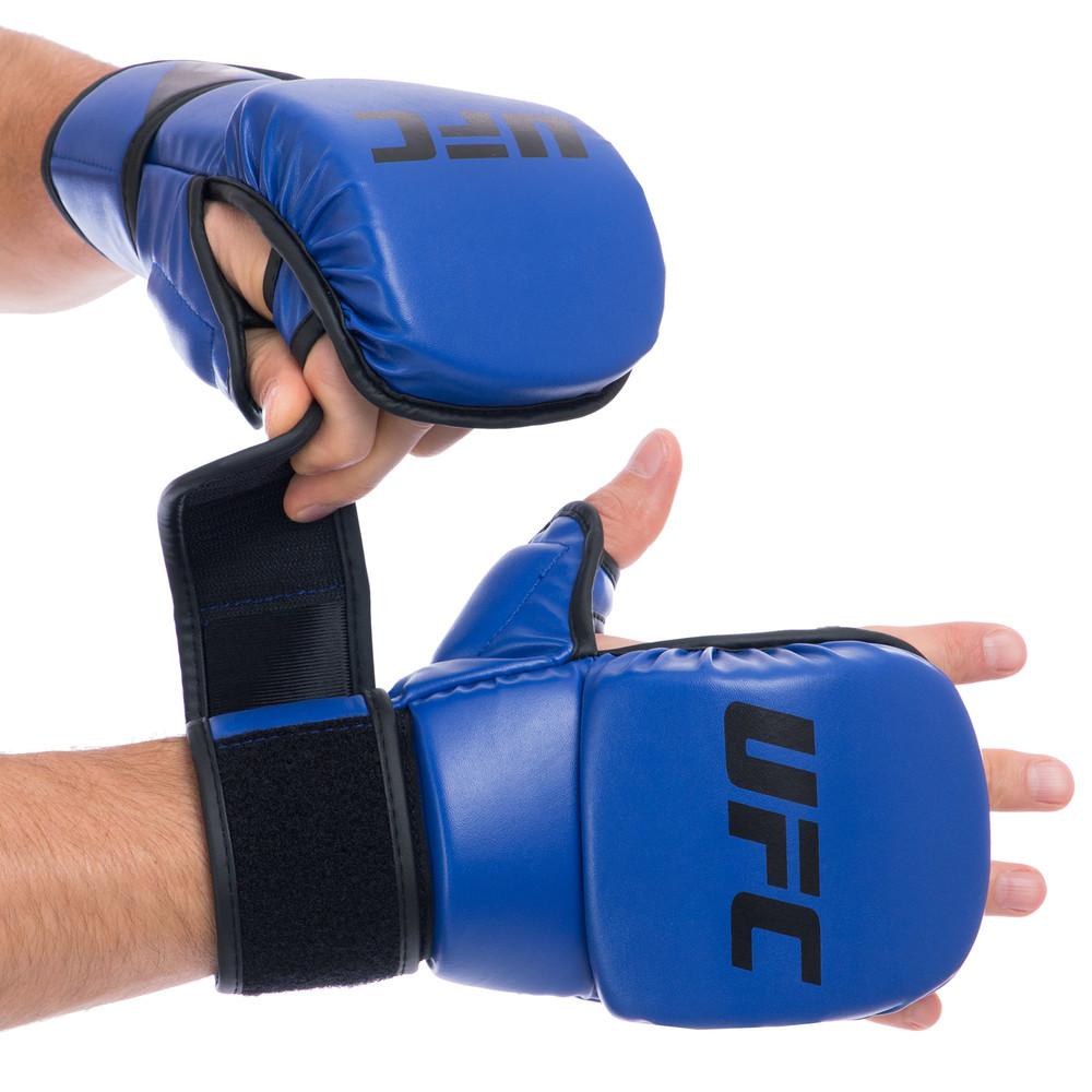 Перчатки гибридные для единоборств ufc contender 69148: l/xl (8 унций) фото №1