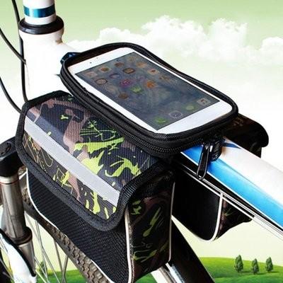 Велосумка на раму для мобильного фото №1