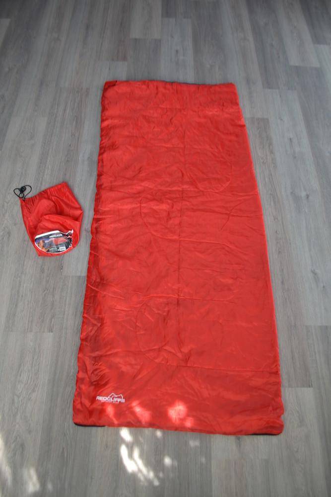 Тонкий летний спальник-одеяло ф. redcliffs в новом состоянии фото №1