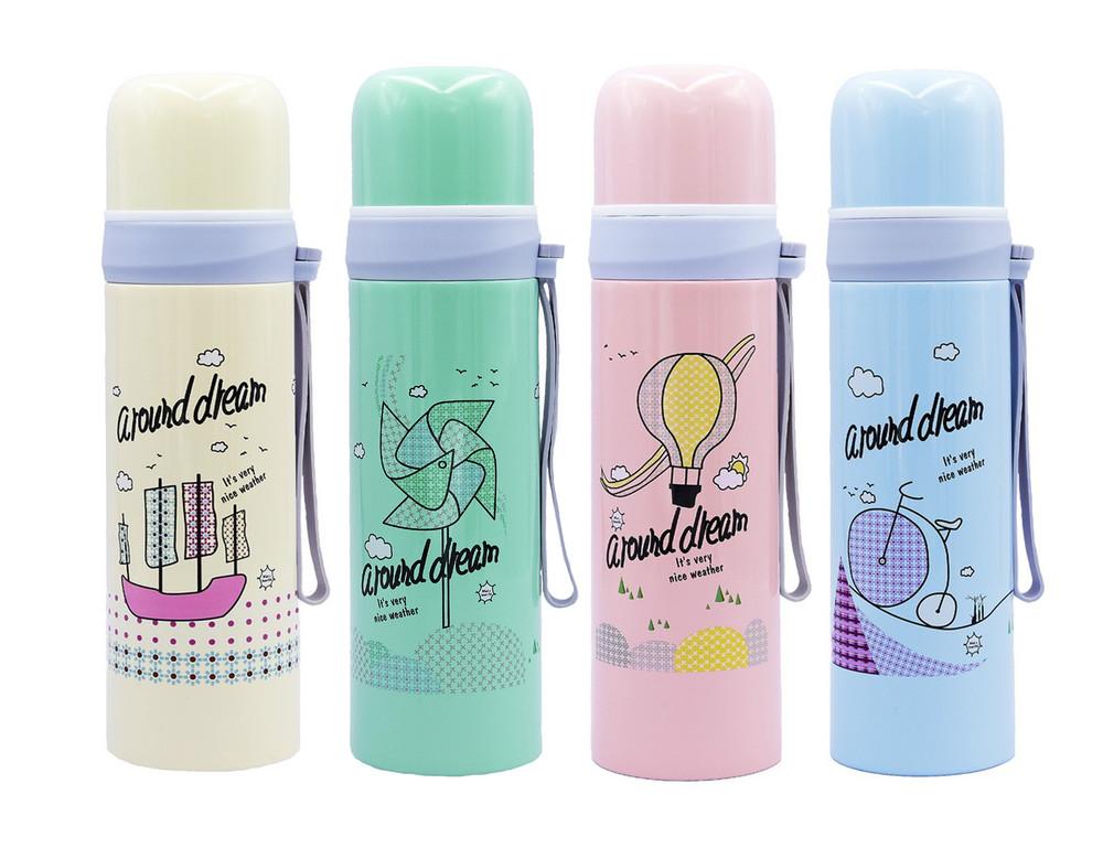 Бутылка для воды термос around dream 2365: 4 цвета, объем 500мл фото №1