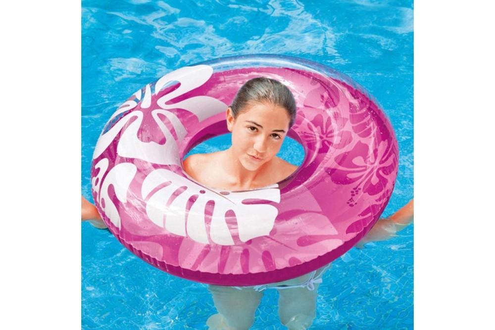 Круг надувной для плавания 59251 intex 91см фото №1