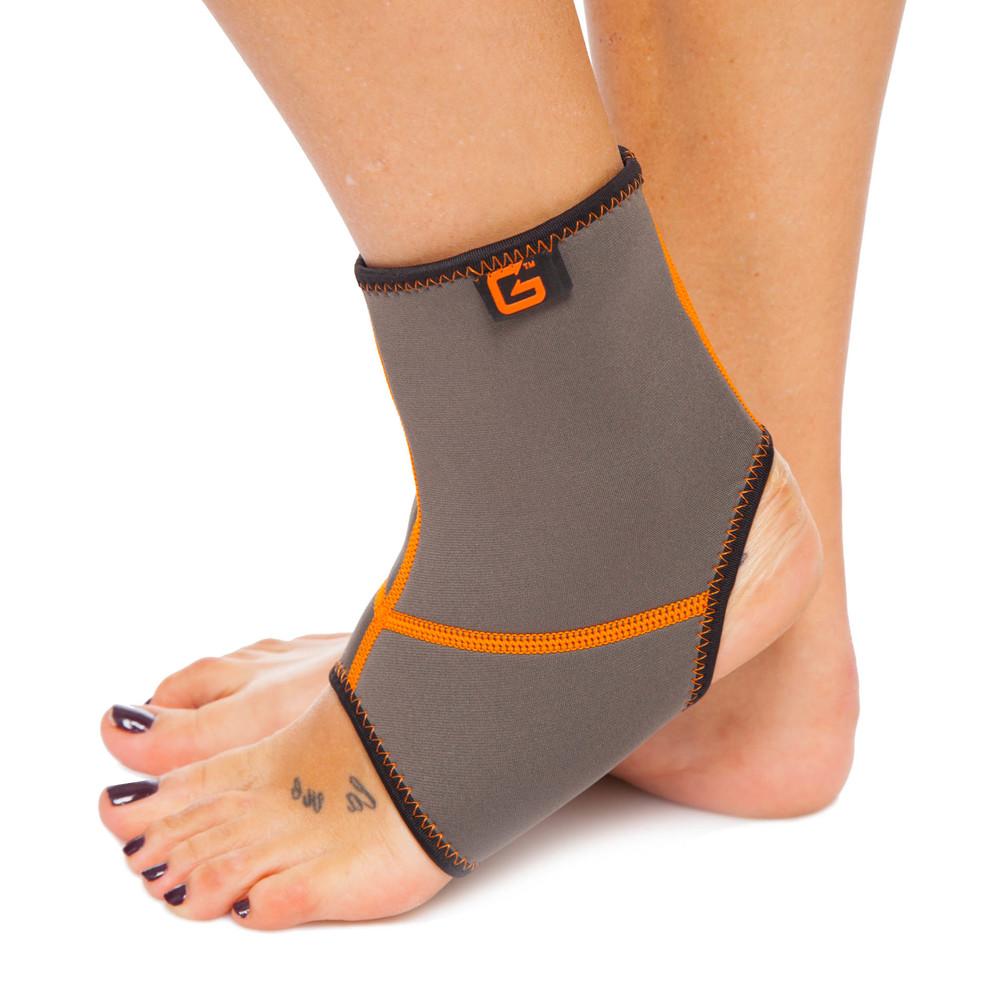 Голеностоп неопреновый grande gs-670 (бандаж голеностопного сустава): размер s-xl фото №1