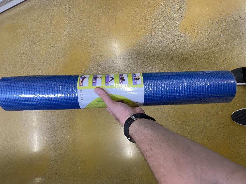 Йогамат, коврик для йоги, фітнеса фото №1