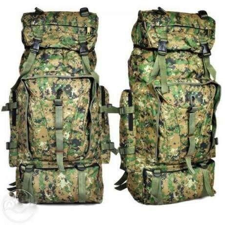Рюкзак, комуфляжный, туристический, военный, большой, вместительный, на,90 литров, качественный, фото №1