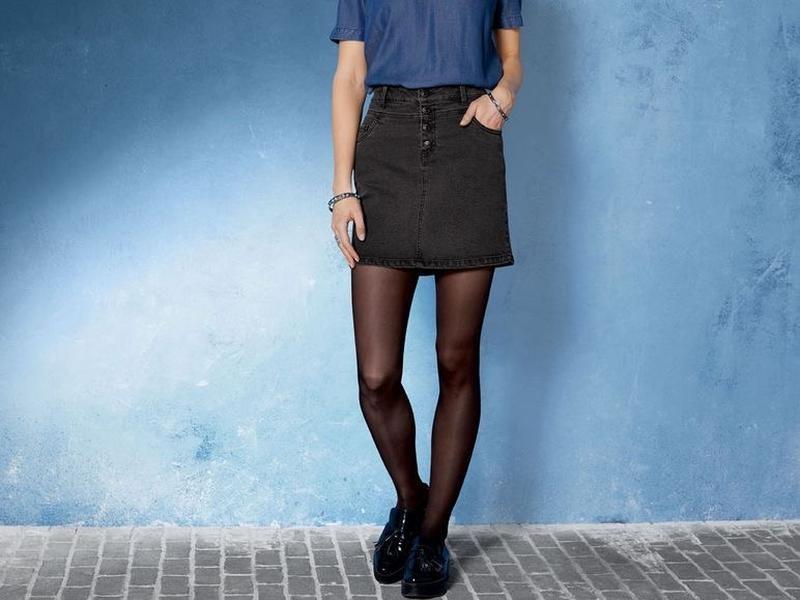 Женская джинсовая юбка с новой коллекции esmara германия. фото №1
