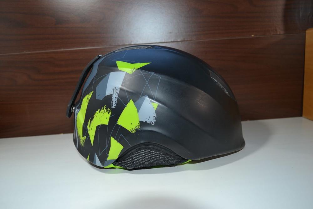 Salomon drift black mat шлем горнолыжный 53-56см фото №1
